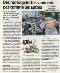 article motocyclettes farfelues